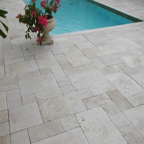 travertin antichizat french pattern 3 cm piatra naturala brasov. Black Bedroom Furniture Sets. Home Design Ideas