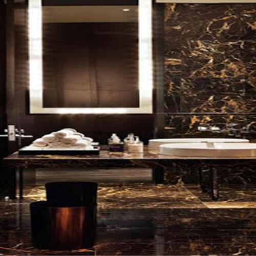 Marmura Golden Black 30x60x2 cm Lustruita