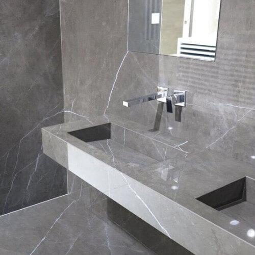 Marmura Pietra Gray 30x60x2 cm Lustruita