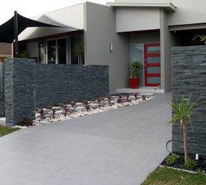 piatra naturala neagra tip panel