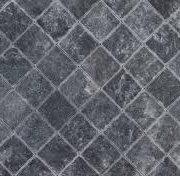 black marble 10x10x1 cm tumbled