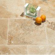 Travertin Light Mat&Chituit Cross Cut 40,6x61x1,2 cmC